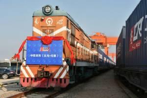 สู่ลอนดอนแล้ว! ขบวนรถไฟประวัติศาสตร์จีนไปอังกฤษ 18 วัน 12,000 กม.