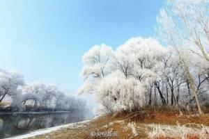 """เหมันตฤดูโปรยหิมะขาวพิสุทธิ์คลุม """"เทียนจิน"""" เนรมิตสรวงสวรรค์บนผืนพสุธา (ชมภาพ)"""
