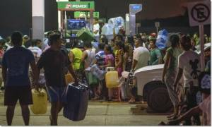 """InPics&Clips: แดนจังโก้เดือด ชาวเม็กซิกันรวมตัวประท้วงทั่วประเทศ หลังสุดช็อกรับปีใหม่ ราคาน้ำมันขึ้นทีเดียว 20%  เปญา นิเอโต ออกโรงกล่อม ช่วยเหลือ """"คนขับแท็กซี-รถบรรทุก"""" ด่วน"""