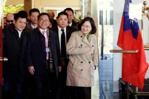 """ปักกิ่งโวยผู้นำไต้หวันคุย ส.ว.ดังมะกัน สื่อมังกรขู่เอาคืนถ้า """"ทรัมป์"""" ทิ้งจีนเดียว"""