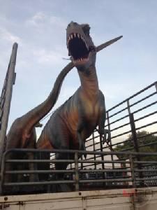 ไดโนเสาร์เข้าทำเนียบฯ!! กรมทรัพยากรธรณี ขนโชว์วันเด็กเสาร์นี้