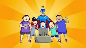 """""""ดีแทค"""" ชู D-Hero ผู้พิทักษ์ออนไลน์ ลดอาชญากรรมในเด็ก"""