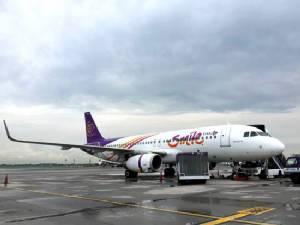 """""""ไทยสมายล์"""" สยายปีกบุกจีน อินเดีย เดินหน้าสู่สายการบินชั้นนำของเอเชีย"""
