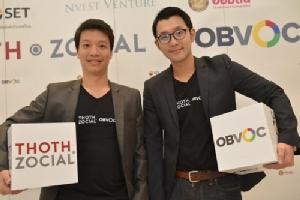 """Thoth Zocial"" ผนึกกำลัง ""OBVOC"" ครองตลาดข้อมูลโซเซียลฯ"