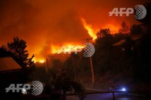 Six people killed by Chile wildfires