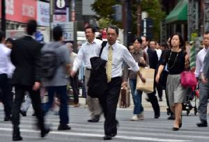 Japan logs first annual price decline in four years