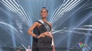 """พลาดมงกุฎแต่ได้ใจ! """"น้ำตาล"""" ทำดีที่สุด เข้ารอบ 6 คนสุดท้าย ประกวด Miss Universe 2016"""