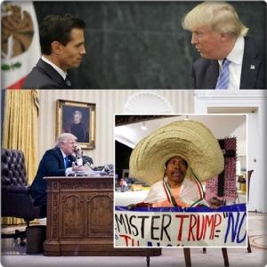 """InClips : ทรัมป์ข่มขู่ """"เปญา นิเอโต"""" ทางโทรศัพท์ จะส่งกองกำลังสหรัฐฯไปเม็กซิโก หากไม่ยอมกวาดบ้านตัวเอง แถมกระแทกหูใส่ผู้นำออสเตรเลีย"""