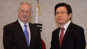 รมต.กลาโหมของทรัมป์รุดเยือนเกาหลีใต้ชาติแรก ยันยืนหยัดเผชิญภัยคุกคามโสมแดง