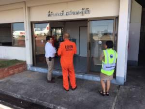 กพท.ตรวจมาตรฐานและความปลอดภัยสนามบินอุบลราชธานี