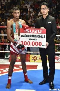 แชมป์อีซูซุคัพ รับอีซูซุดีแมคซ์ พร้อมเงินสด 1 ล้าน
