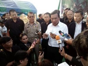 รมว.เกษตรฯ ตรวจเยี่ยมการพัฒนาพื้นที่ ส.ป.ก.สระแก้ว เตรียมจัดสรรให้ชาวบ้าน