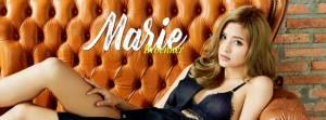 """ร้อนระอุ! """"มารี เบิร์นเนอร์"""" ปก RUSH Magazine"""