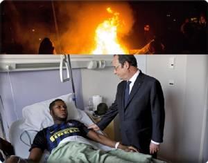 """InClips: ปารีสเดือด!! พลเมืองน้ำหอมร่วมใจก่อจลาจลคืนที่ 4 หายุติธรรมให้ """"เหยื่อหนุ่มแอฟริกันผิวสี"""" ถูกตำรวจปารีสหยามความเป็นคน ใช้กระบองเสียบเข้ารูทวารจนใช้การไม่ได้!!"""