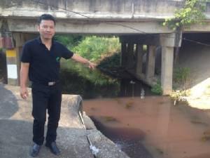 สั่งปิดโรงงานไทยฮั้วระยอง 15 วัน ปล่อยน้ำเสียไหลลงคลองสาธารณะ