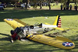 Harrison Ford in near-miss landing private plane