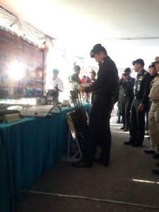 มทภ.1 ตรวจเยี่ยม มทบ.11-สารวัตรทหาร สั่งดูแลเครื่องมือ วันหมดอายุแก๊สน้ำตา