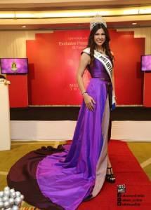 """สุดอลังการ! """"นาตาลี เกลโบว่า"""" ร่วมเปิดตัวเวที Mrs. Universe Thailand 2017"""