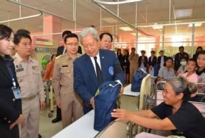 องคมนตรีตรวจเยี่ยมโรงพยาบาลสมเด็จพระยุพราชกุฉินารายณ์