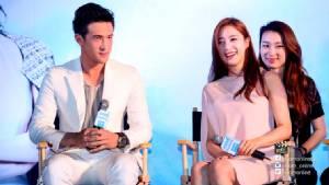 """น่าเอ็นดู! """"เจมส์ มาร์"""" ควง """"ฮัม อึน จอง"""" เปิดตัวภาพยนตร์ """"MIND MEMORY 1.44 พื้นที่รัก"""""""