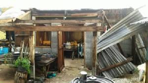 พายุฝน-ลูกเห็บกระหน่ำชัยนาท ทำบ้านเรือนเสียหาย 26 หลัง