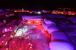 """ชมภาพความงามแห่ง """"เมืองหิมะ"""" ในอ้อมกอดหิมะขาวพิสุทธิ์ งดงามดุจสรวงสวรรค์"""