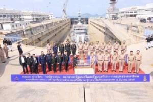 """""""ประวิตร"""" ลงพื้นที่กองทัพเรือ ผลักดันอุตสาหกรรมป้องกันประเทศ"""