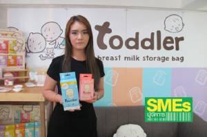 SME TV Show:ไขไอเดียเจาะตลาดแม่และเด็ก ด้วยถุงน้ำนม'toddler'