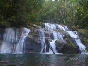 """ชุมชนท่องเที่ยวลุยป่า 3 วัน 2 คืน สำรวจพบ """"น้ำตกหนานญี่ปุ่น"""" เด่นสง่ากลางเทือกเขาบรรทัด"""