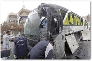 InClip : ยอดเหยื่อระเบิดแสวงบุญอิรักชีอะห์ในกรุงดามัสกัสดับพุ่งทะลุ 74 สังเกตการณ์ซีเรีย SOHR ชี้