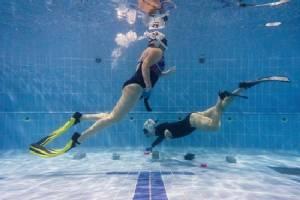 Underwater hockey in Hong Kong