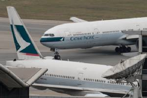 Hong Kong carrier Cathay Pacific swings to US$74mn los