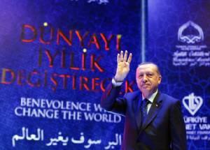"""ปธน.ตุรกีพูดแรง ชี้ """"ลัทธิฟาสซิสม์"""" กำลังอาละวาดในยุโรป"""