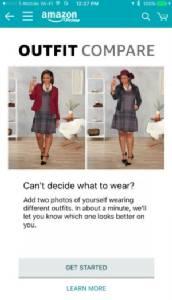 "Amazon เปิดตัวฟีเจอร์ใหม่ ""Outfit Compare"" เลือกชุดให้โดยสไตลิสต์มืออาชีพ"