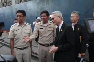 รมช.คมนาคม ชี้ไทยต้องเร่งพัฒนาอุตสาหกรรมพาณิชยนาวี หนีปัญหาขนส่งทางน้ำทั้งขาเข้าและออก
