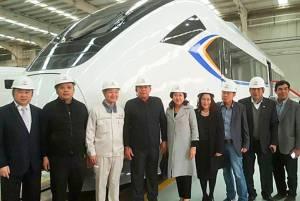 ผู้ว่าฯ กทม.เยี่ยมชมโรงงานผลิตรถไฟชั้นนำของจีน ตามคำเชิญเมืองชิงเต่า