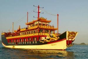 """เปิดตัวเรือท่องเที่ยวสุดหรูลำใหม่ """"พิจิตรา"""" บริการทัวร์วันเดย์ทริป-บุฟเฟ่ต์ซันเซท"""