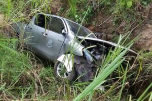 เศร้า! เสียชีวิตแล้วนายอำเภอเมืองกระบี่ รถพลิกคว่ำขณะตรวจโครงการสร้างบ้านผู้ประสบภัยน้ำท่วม