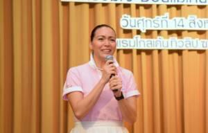 """""""ลอร่า วัฒนกุล"""" หนุน สนช.ผ่านร่าง กม.คุมตลาดนมผง ยันไม่สุดโต่ง ช่วยปกป้องเด็กไทย"""