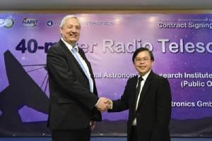 """ทำความรู้จัก """"กล้องโทรทรรศน์วิทยุแห่งชาติ"""" จานแรกของไทย"""