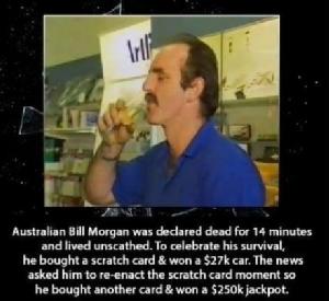 จากคนที่ตายไปแล้ว เขาฟื้นขึ้นมาเป็นคนรวย
