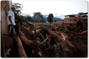 ชมภาพความเสียหาย : โคลอมเบียดุ น้ำท่วม-โคลนถล่ม ดับพุ่ง 254 แค่ชั่วข้ามวัน ผู้นำโทษโลกร้อน