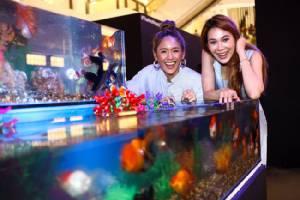 """""""โบวี่"""" ตะลึง! เที่ยวสุดยอดนิทรรศการปลาสวยงามครั้งแรกในเมืองไทย"""