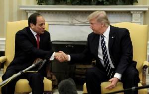 ไม่สนเคยก่อรัฐประหาร-ละเมิดสิทธิฯ ทรัมป์นำสหรัฐฯ ปรับความสัมพันธ์ ปธน.อียิปต์