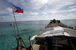 """ส่อแววระอุ!! """"ดูเตอร์เต"""" ประกาศส่งทหารคุม """"ทุกเกาะแก่ง"""" ในทะเลจีนใต้ที่เป็นกรรมสิทธิ์ของฟิลิปปินส์"""