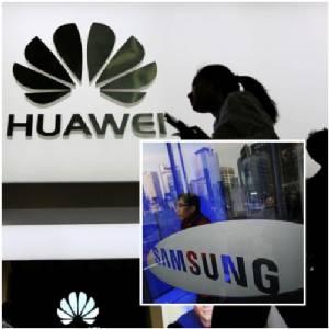 """ศาลจีนสั่ง """"ซัมซุง"""" จ่ายค่าละเมิดสิทธิบัตร 11.6 ล้านดอลลาร์ให้หัวเหว่ย"""