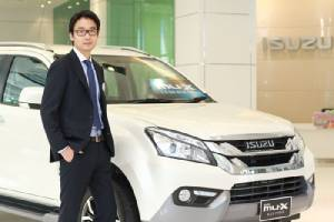 อีซูซุ มองตลาดรถยนต์บวกแตะ810,000คันปรับเพิ่มเป้า