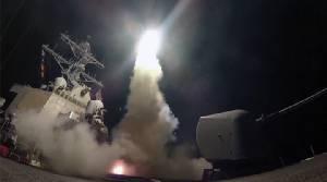 ดูชัดๆ! คลิปวินาทีสหรัฐฯยิงโทมาฮอว์กถล่มฐานทัพซีเรีย ทูตอเมริกาขู่กลางที่ประชุม UN จัดหนักอีกแน่