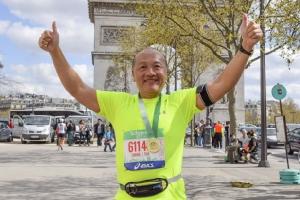 ซีอีโอไทยยูเนี่ยนร่วมวิ่งลอนดอนมาราธอน