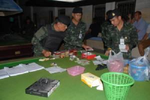 บุกจับบ่อนกลางเมืองราชบุรี รวบนักพนันกว่า 40 คน